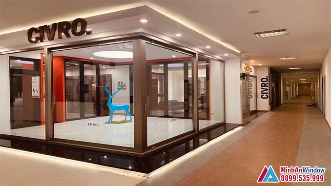 Cửa nhôm cao cấp CIVRO đẹp nhất năm 2021 - Minh An Window cung cấp và lắp đặt