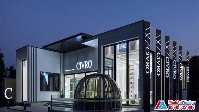 Cửa nhôm cao cấp CIVRO cao cấp - Minh An Window đã thi công