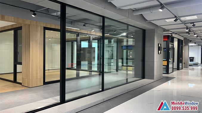 Cửa nhôm cao cấp cho các văn phòng cao cấp - Minh An Window đã thi công