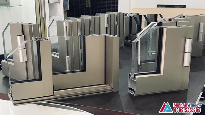 Mẫu cửa nhôm cao cấp phổ biến - Minh An Window cung cấp và lắp đặt