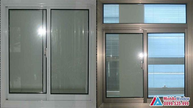 Cửa sổ cửa nhôm Hyundai cao cấp chất lượng - Minh An Window đã thi công