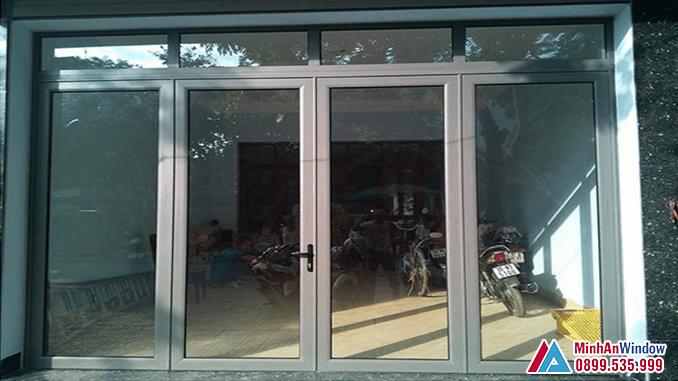 Cửa nhôm Hyundai 4 cánh cao cấp chất lượng - Minh An Window đã thi công