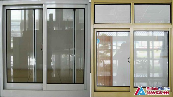 Cửa sổ nhôm Hyundai cánh trượt cao cấp chất lượng - Minh An Window đã thi công