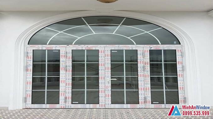 Cửa nhôm kính các khu công nghiệp cao cấp - Minh An Window đã thi công