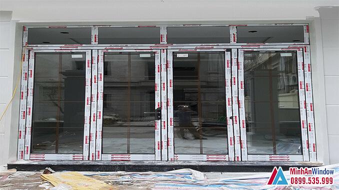 Cửa nhôm kính khu công nghiệp cao cấp chất lượng - Minh An Window đã thi công