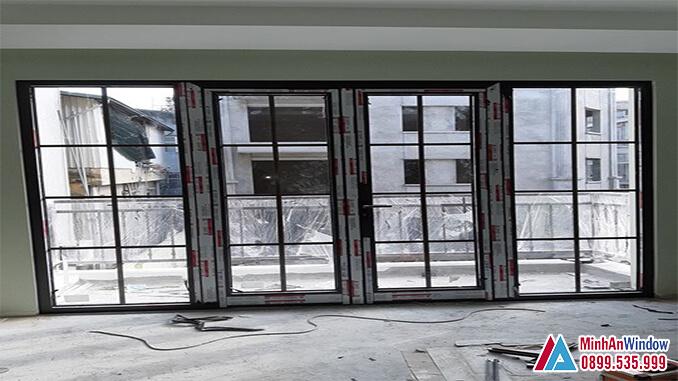 Cửa nhôm kính các khu công nghiệp cao cấp chất lượng - Minh An Window đã thi công