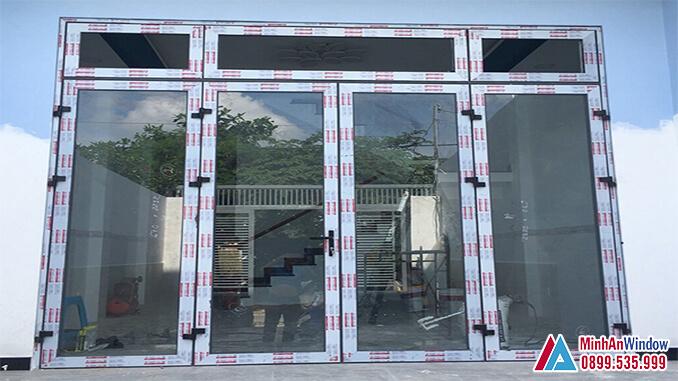 Cửa Nhôm Kính Tại Thành Phố Hồ Chí Minh 4 Cánh Cao Cấp - Minh An Window Cung Cấp Và Lắp Đặt