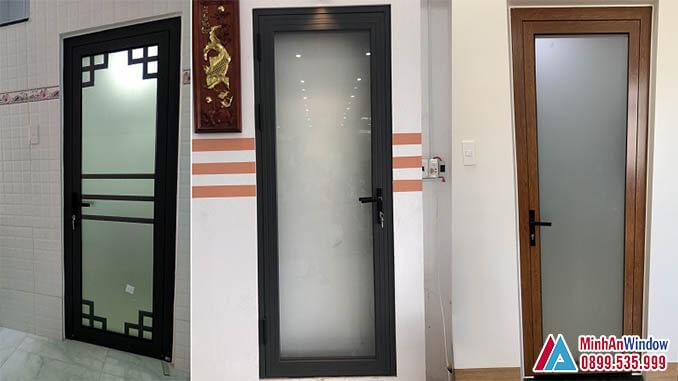 Cửa Nhôm Kính Nhà Vệ Sinh Các Loại Cao Cấp - Minh An Window Đã Thi Công
