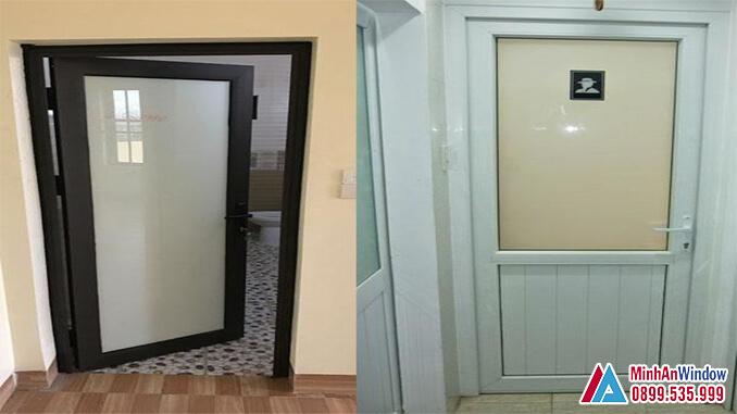 Cửa Nhôm Kính Nhà Vệ Sinh Cao Cấp Chất Lượng Số 1 Việt Nam - Minh An Window Đã Thi Công