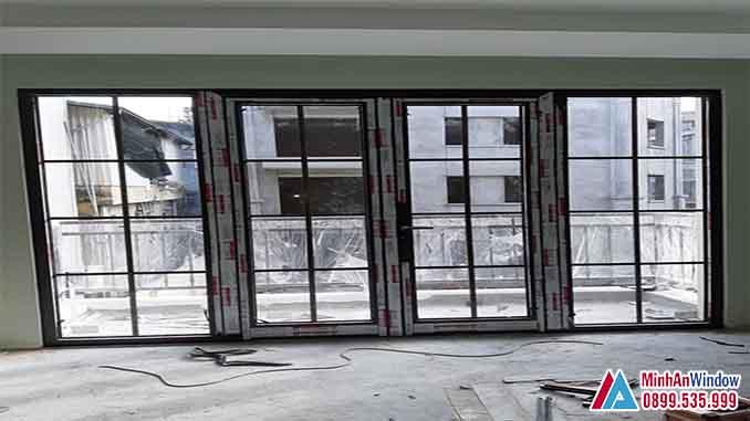 Cửa Nhôm Kính Tại Đan Phượng Mẫu Cửa Nhôm Xingfa - Minh An Window Đã Thi Công
