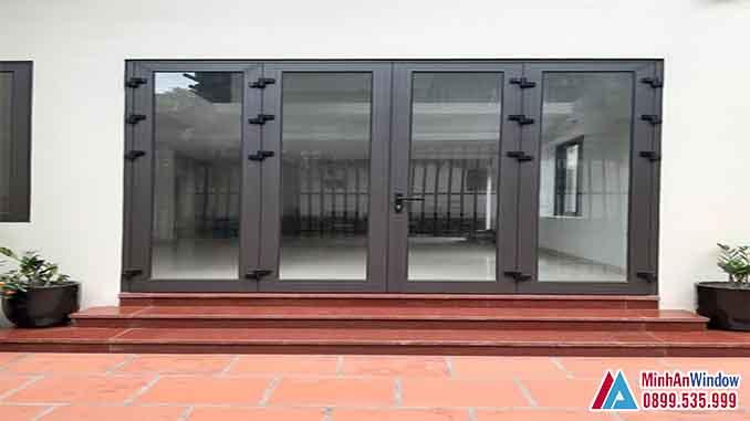 Cửa Nhôm Kính Tại Đan Phượng Cho Các Công Trình Dân Sinh - Minh An Window Đã Thi Công