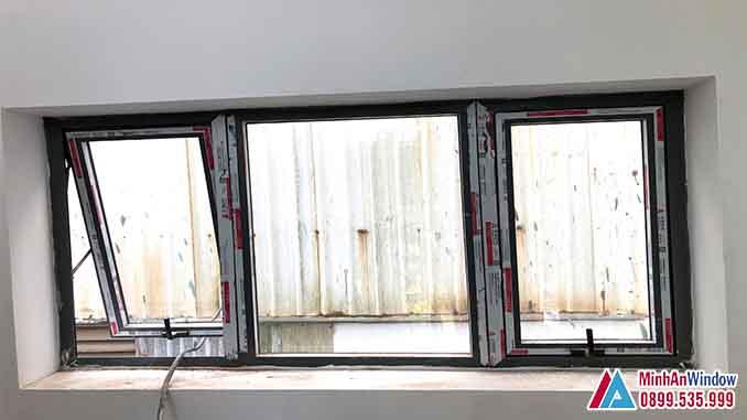 Cửa Sổ Nhôm Kính Tại Sơn Tây Cao Cấp - Minh An Window Đã Thi Công