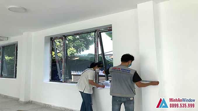 Cửa Nhôm Kính Tại Bắc Kạn Cao Cấp Chất Lượng 2021 - Minh An Window Đã Thi Công