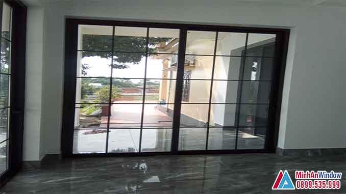 Cửa Nhôm Kính Tại Vĩnh Phúc Cao Cấp Chất Lượng - Minh An Window Đã Thi Công