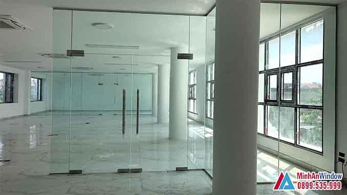 Cửa Nhôm Kính Tại Sơn Tây - Minh An Window Đã Thi Công