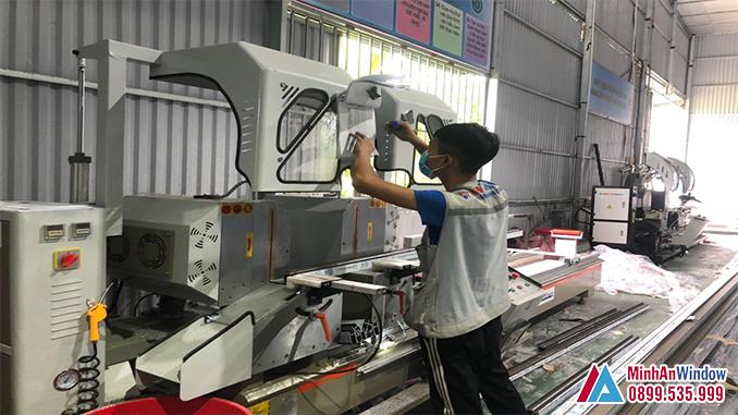 Xưởng Sản Xuất Cửa Nhôm Kính Của Minh An Window Tại Hà Nội