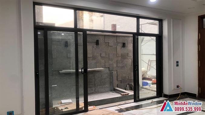 Cửa Nhôm Kính Tại Thạch Thất Cao Cấp 2021 - Minh An Window Đã Thi Công