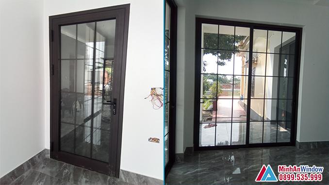 Cửa Nhôm Kính Tại Thái Bình Cao Cấp - Minh An Window Đã Thi Công