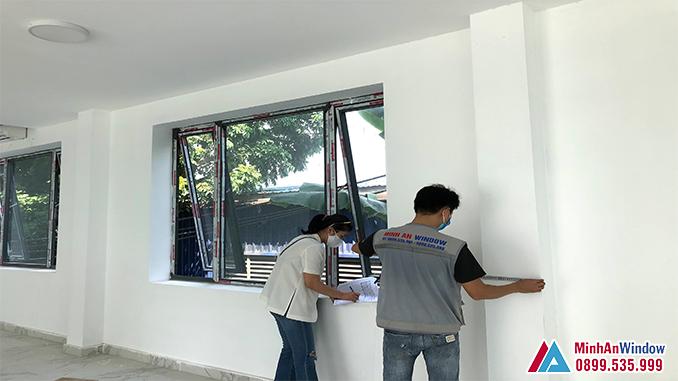 Cửa Sổ Nhôm Kính Xingfa Tại Thái Bình Cao Cấp - Minh An Window Đã Thi Công