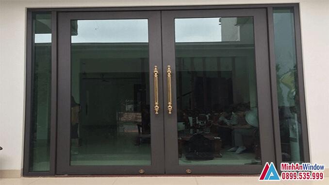 Cửa Nhôm Kính Thủy Lực Cao Cấp Chất Lượng - Minh An Window Đã Thi Công