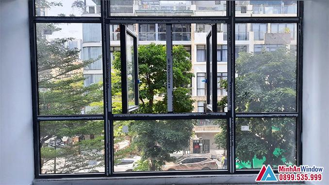 Cửa Nhôm Kính Viral Window Cao Cấp Cho Các Công Trình Tại Hà Nội - Minh An Window Đã Thi Công