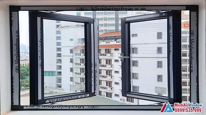 Cửa Sổ Nhôm Kính Viral Window Cao Cấp Chất Lượng Số 1 Việt Nam - Minh An Window Đã Thi Công