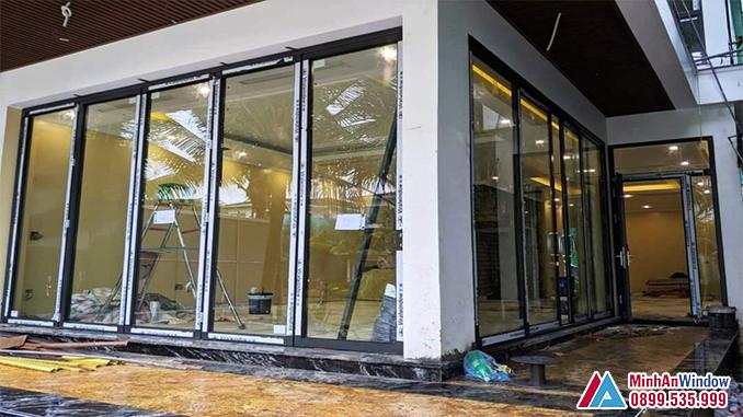 Cửa Nhôm Kính Viral Window Cao Cấp Chất Lượng - Minh An Window Đã Thi Công