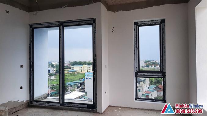 Cửa Nhôm Kính Viral Window Tại Hà Nội - Minh An Window Đã Thi Công