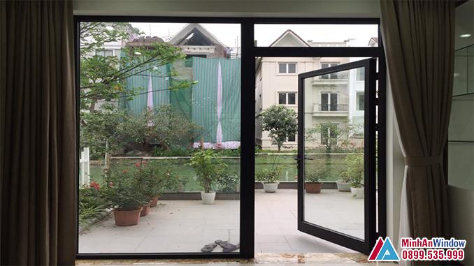 Cửa Nhôm Kính Viral Window Mở Đẩy Cao Cấp - Minh An Window Đã Thi Công