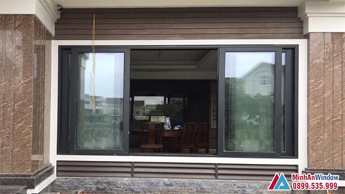 Cửa Nhôm Kính Cánh Trượt Viral Window Cao Cấp - Minh An Window Đã Thi Công