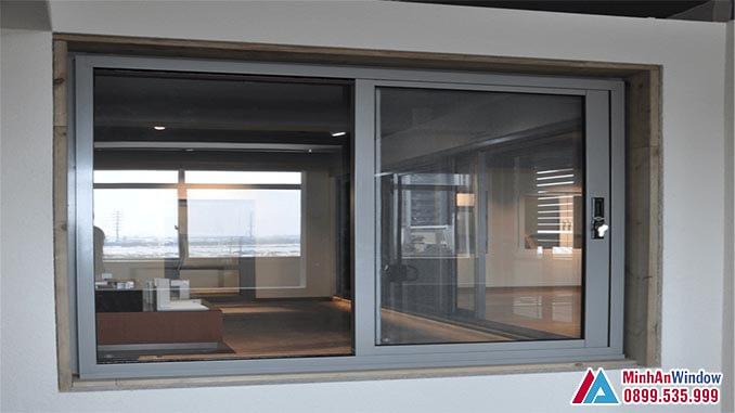 Cửa sổ trượt nhôm kính PMA cao cấp chất lượng - Minh An Window đã thi công
