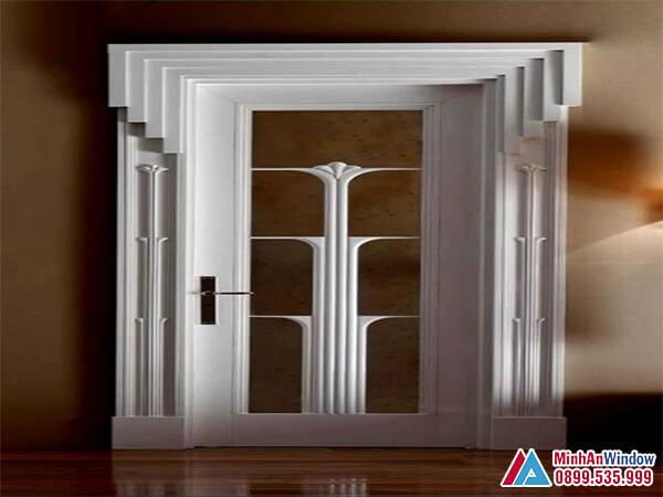 Cửa sắt 1 cánh cao cấp chất lượng - Minh An Window đã thi công