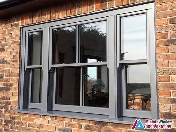 Cửa sổ 3 cánh đẹp với thiết kế mới nhất năm 2021 - Minh An Window đã thi công
