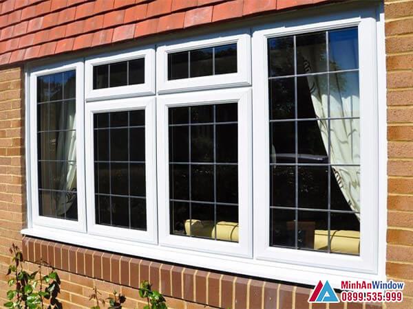 Cửa sổ nhôm kính 4 cánh cao cấp chất lượng nhất năm 2021 - Minh An Window đã thi công