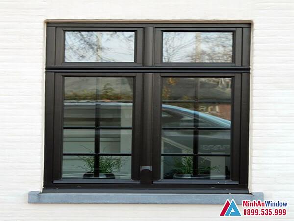 Cửa sổ nhôm 2 cánh cao cấp chất lượng - Minh An Window đã thi công