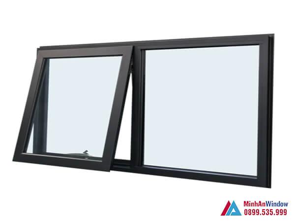 Cửa sổ 2 cánh mở hất cao cấp chất lượng năm 2021 - Minh An Window đã thi công