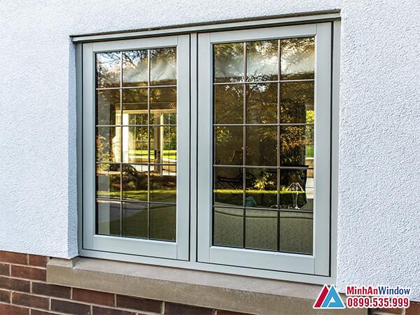 Mẫu Cửa sổ nhôm kính 2 cánh đẹp - Minh An Window đã thi công
