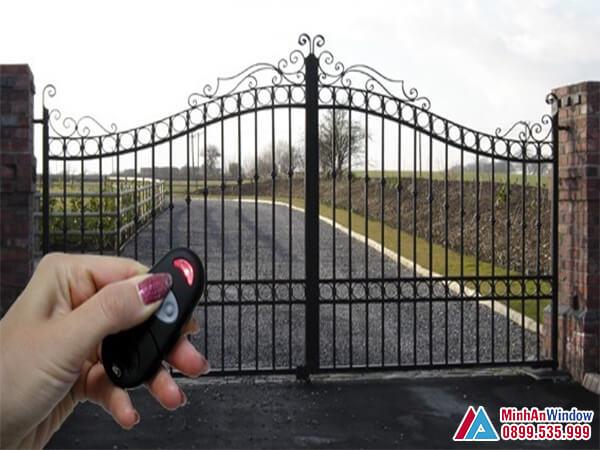 Công tắc điều khiển tự xa cho cổng tự động - Minh An Window cung cấp và lắp đặt