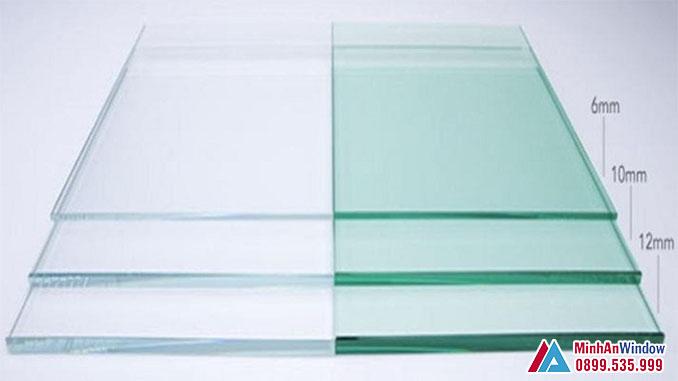 Các Loại Kính Cường Lực Cao Cấp 6mm, 10mm, 12mm - Minh An Window Đã Thi Công