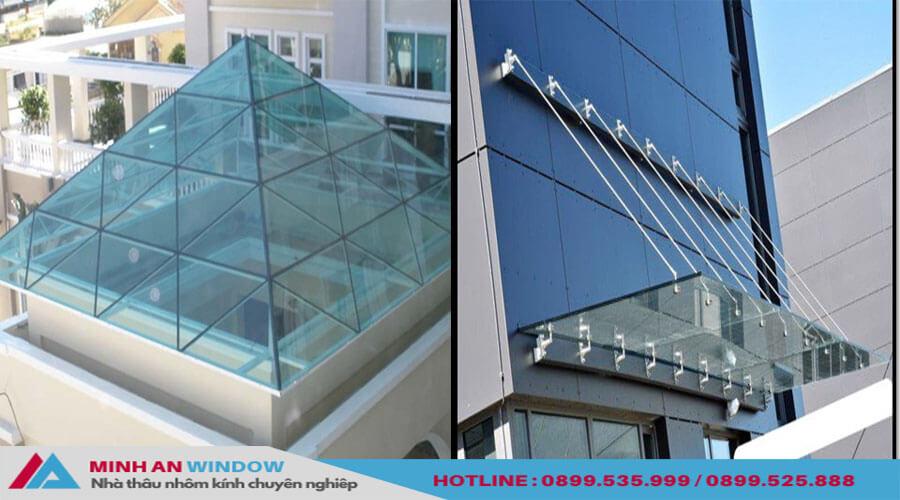 Tấm nhựa Polycarbonate cao cấp cho các mái lợp nhựa - Minh An Window đã thi công