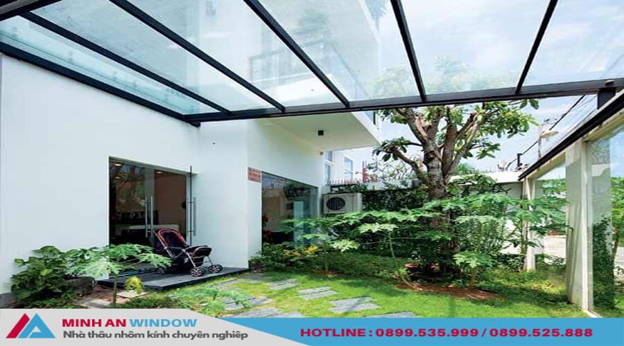 Tấm nhựa thông minh khung nhôm cao cấp - Minh An Window đã thi công