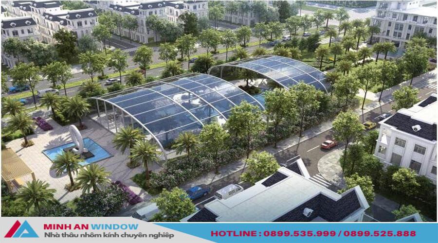 Tấm lợp thông minh cao cấp chất lượng phổ biến - Minh An Window đã thi công