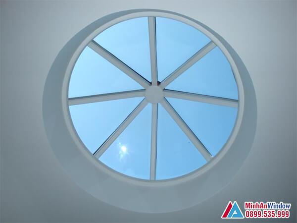 Mái kính giếng trời cao cấp phổ biến năm 2021 - Minh An Window đã thi công