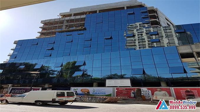 Vách Kính Mặt Dựng Cho Các Tòa Nhà Văn Phòng - Minh An Window Đã Thi Công