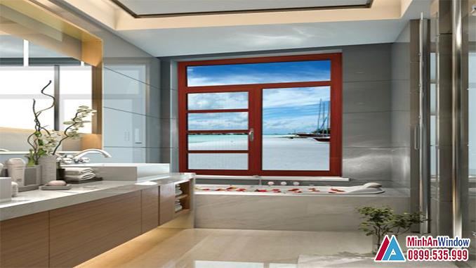 Cửa Sổ Vách Nhôm Kính Đông Á Cho Phòng Tắm - Minh An Window