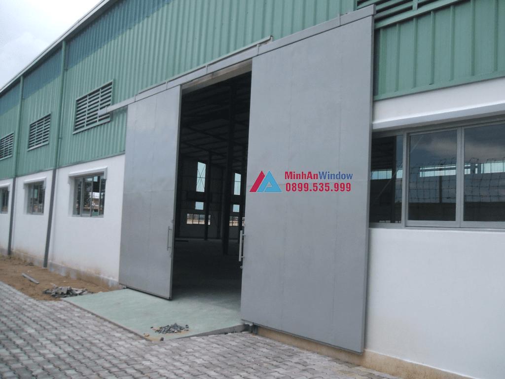 Dự Án Thi Công Hệ Thống Cửa Nhôm Kính KCN Tây Bắc Gia - Thanh Hóa 7