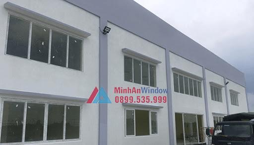 Công trình cửa nhôm kính Minh An Window lắp đặt cho khách hàng tại Yên Bái