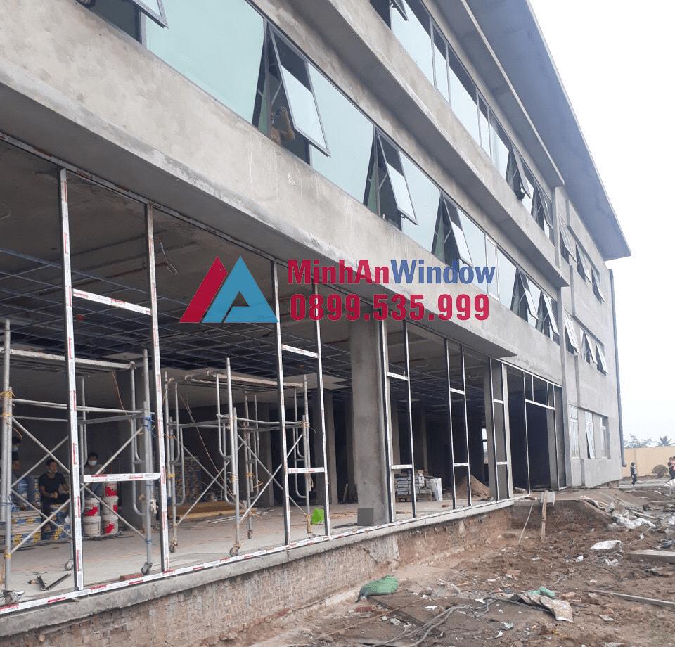 Dự Án Thi Công Hạng Mục Cửa Nhôm Kính Tại Lam Sơn Tỉnh Thanh Hóa 1