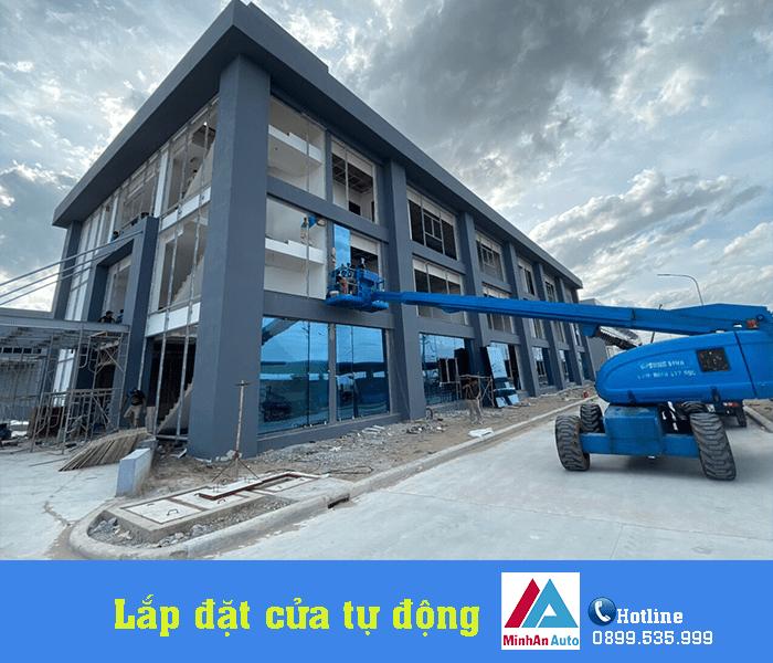 Minh An Window thi công, lắp đặt cửa tự động cho nhà máy tại Nghi Sơn - Thanh Hóa