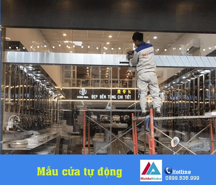 Dự Án Cửa Tự Động Lắp Đặt Tại Bỉm Sơn Tỉnh Thanh Hóa 6